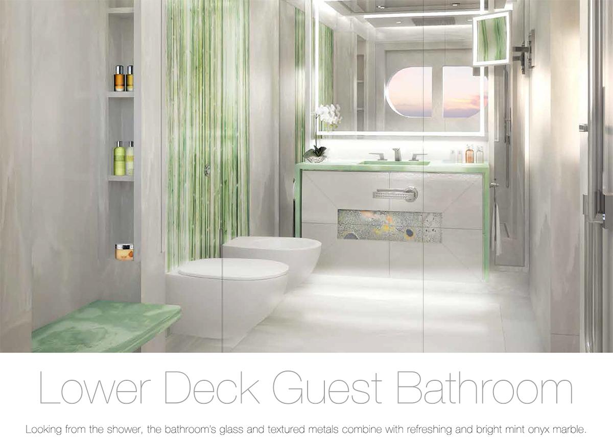 Lower Deck Guest Bathroom