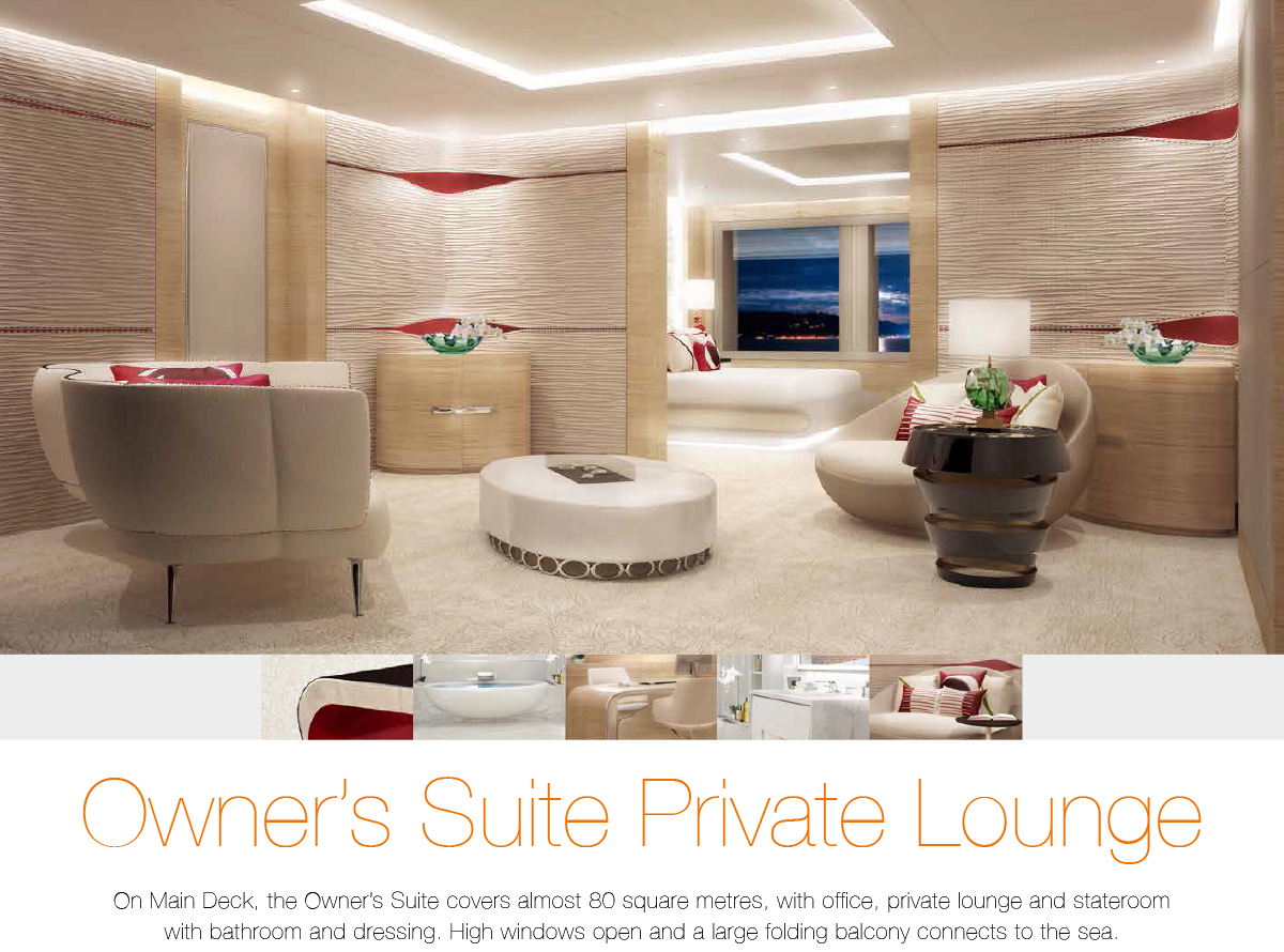 Owner's Suite Private Lounge