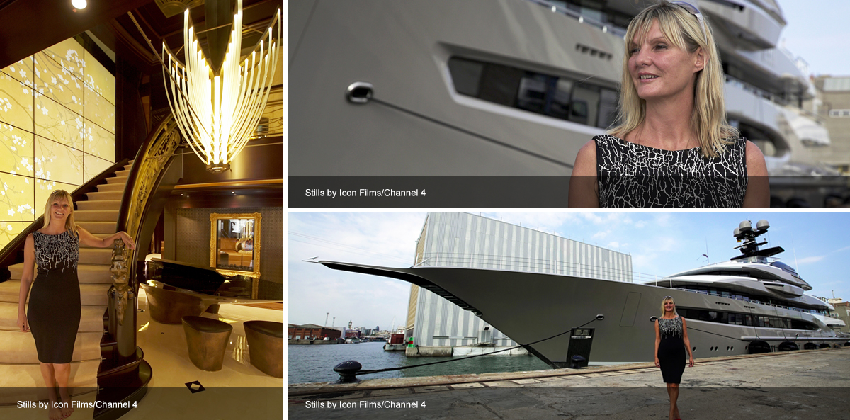 Channel 4: Million Pound Mega Yachts
