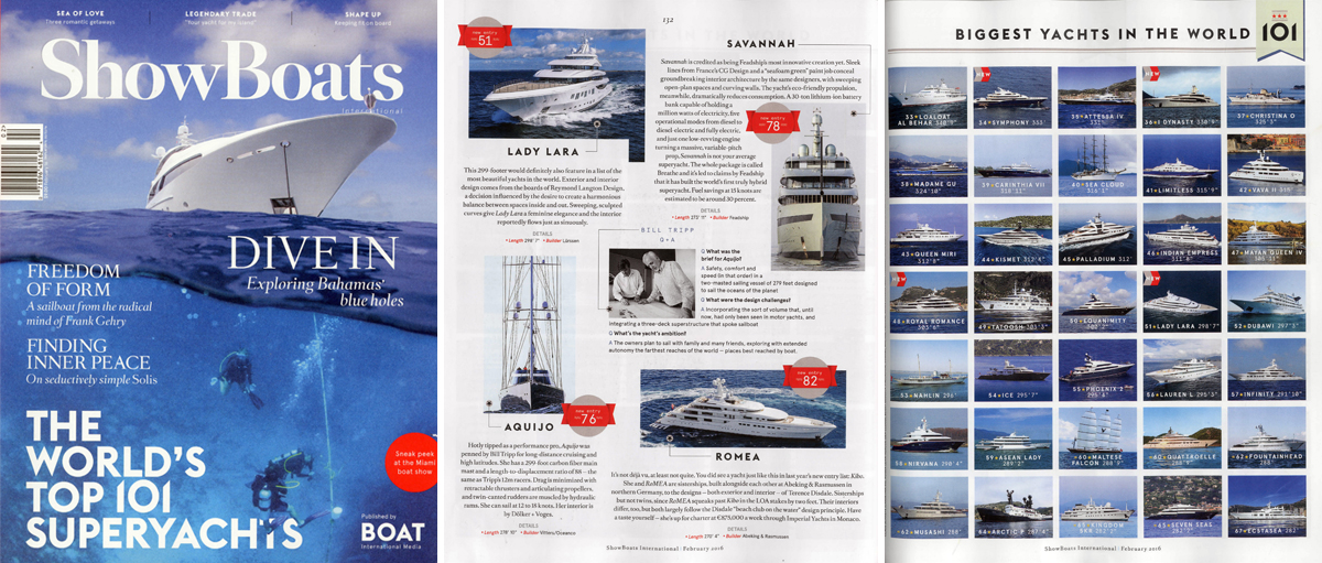 Show Boats International February 2016 edition