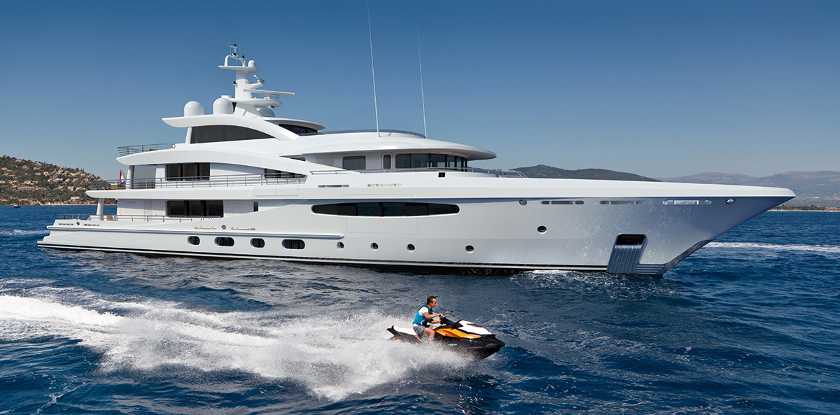 First AMELS Limited Editions 188 motor yacht sold