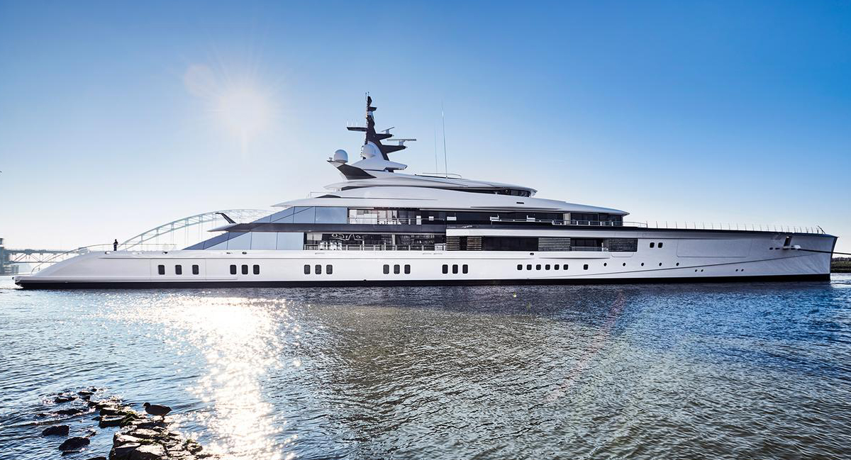 Our latest Oceanco superyacht Bravo Eugenia scoops coveted Monaco explorer award