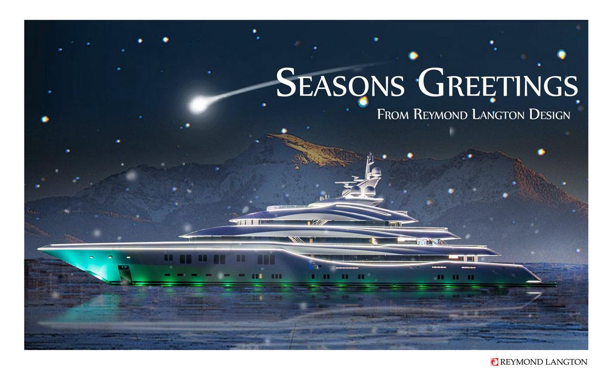 Season's Greetings from the team at Reymond Langton Design