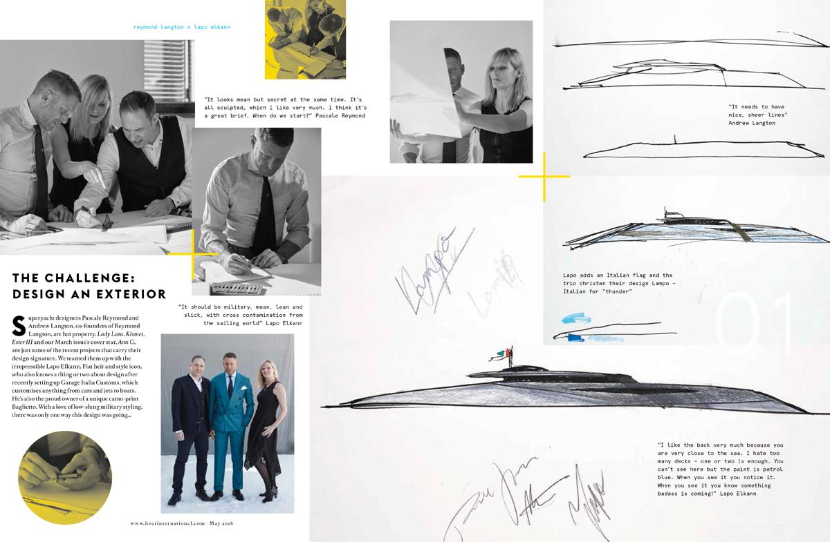 Designer Duos – Reymond Langton and Lapo Elkann
