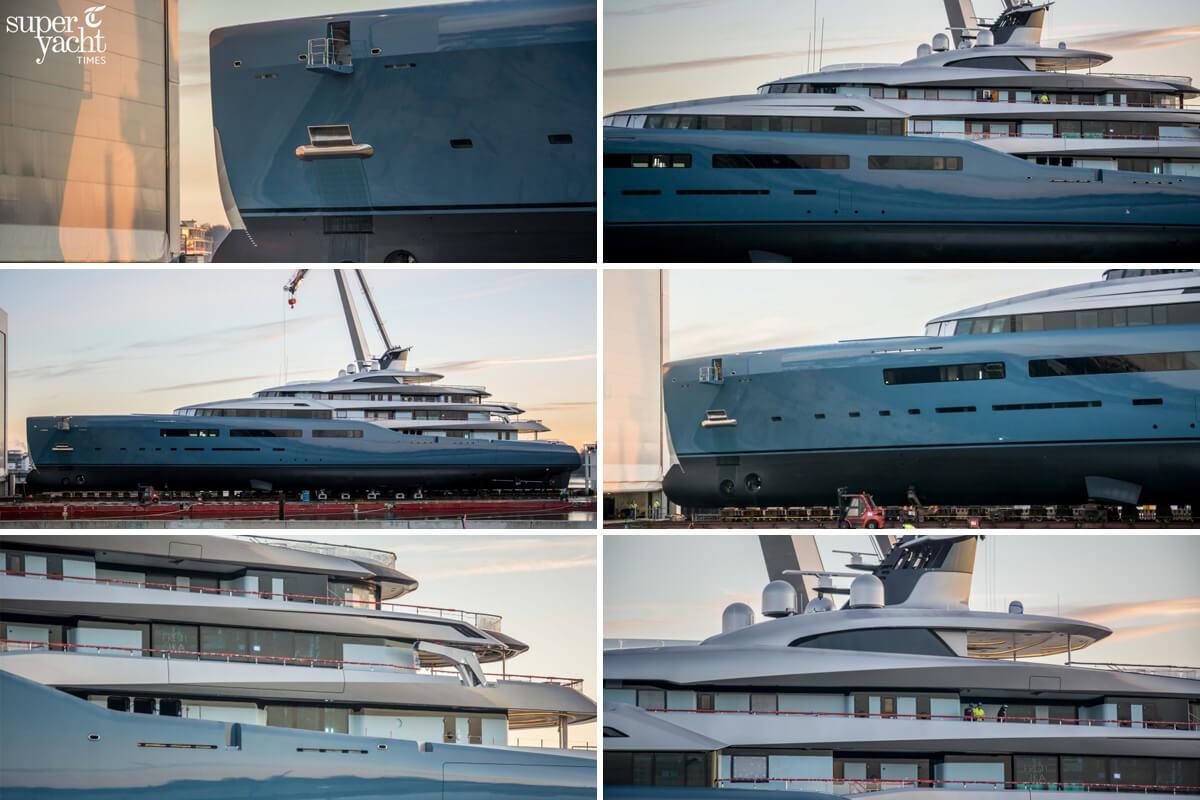 Abeking & Rasmussen preparing to launch 98m flagship superyacht Aviva