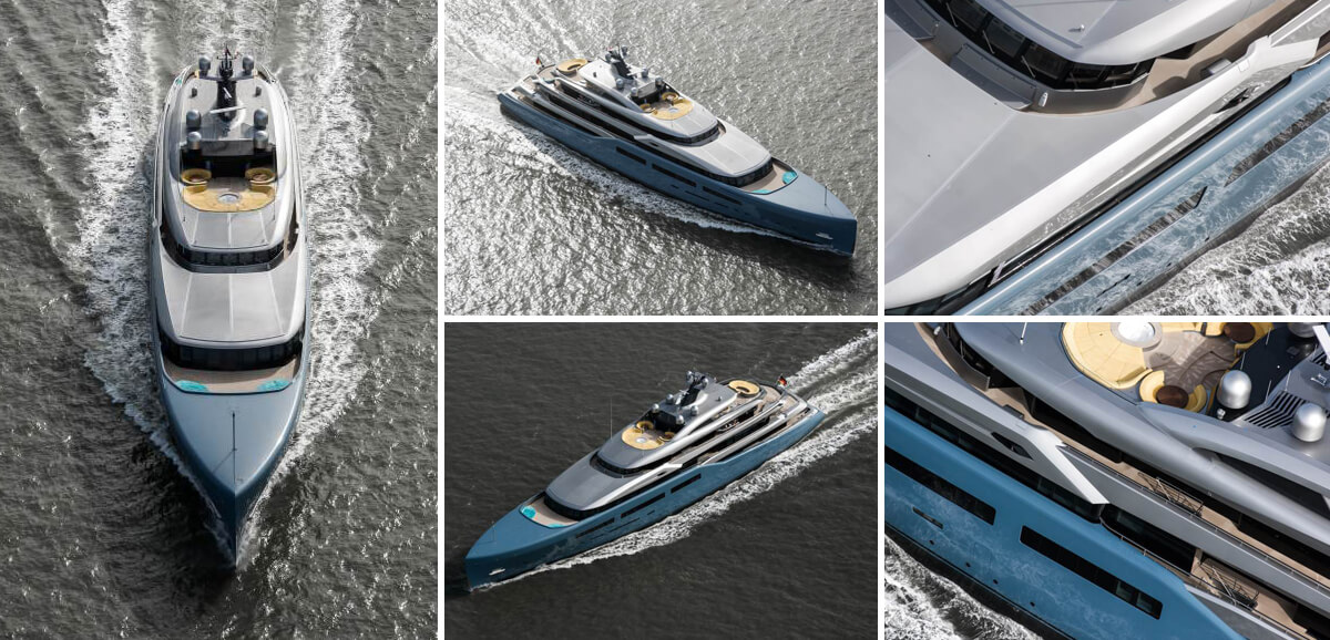Exclusive: the 98m Aviva in action for first time
