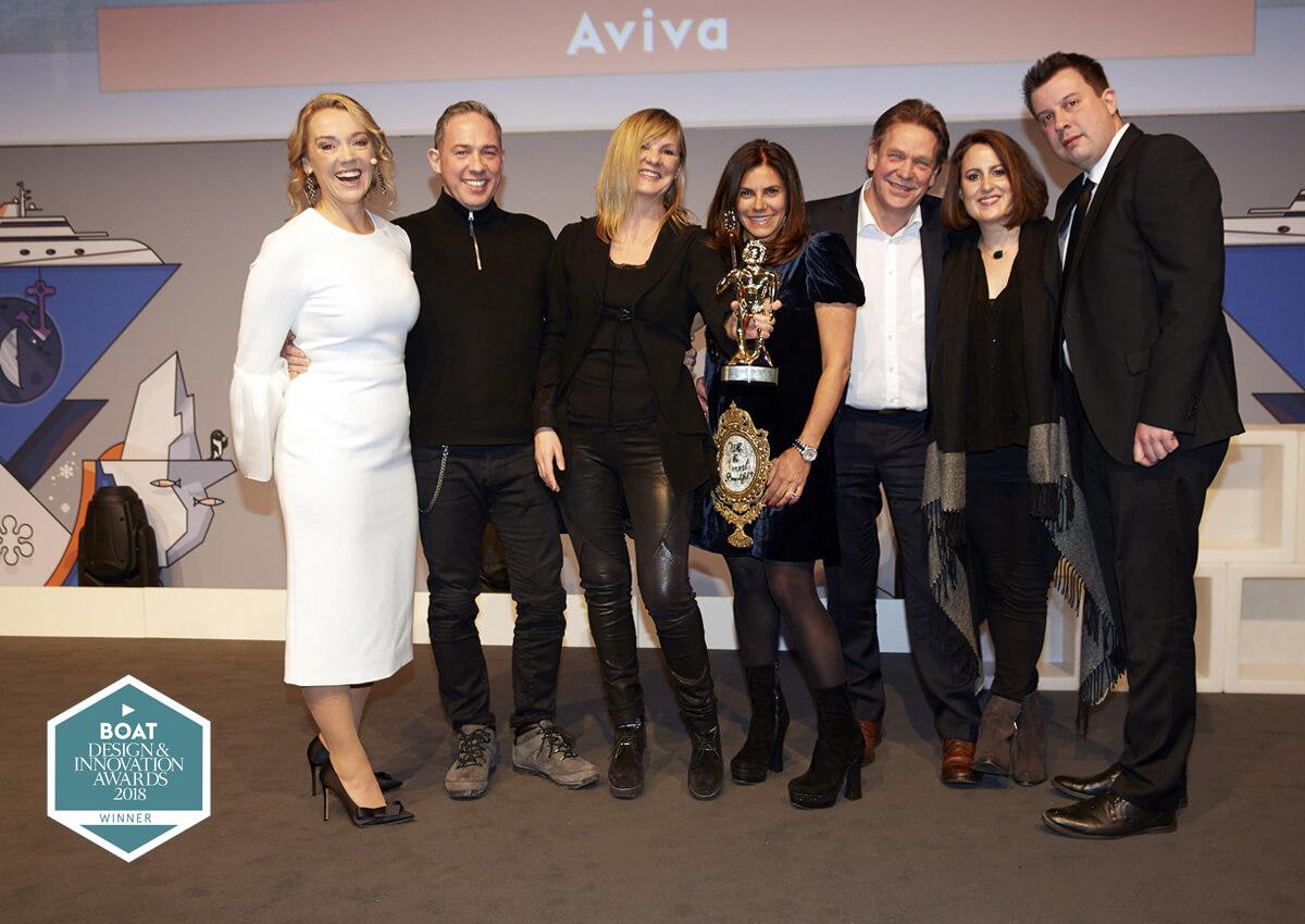 Winner of the Boat International Design and Innovation Awards 2018