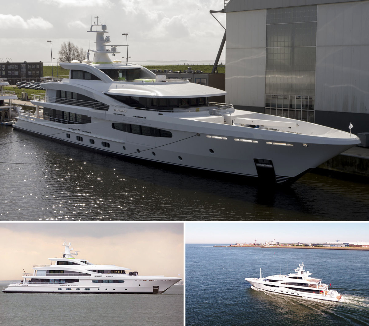 Amels delivers first 188 Hybrid Superyacht Volpini 2