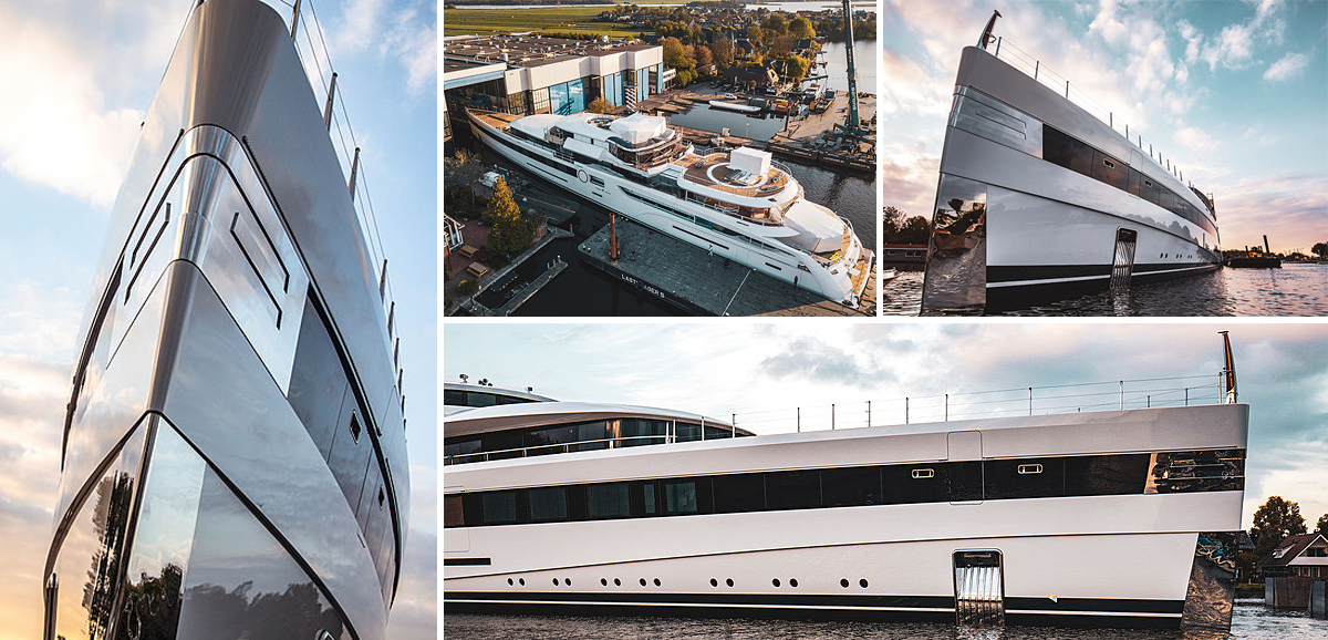 Launched: Feadship reveals new 93m Project 814
